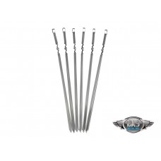 28″ Stainless Steel Skewers